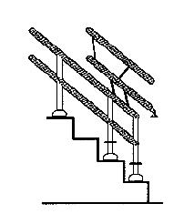 rail relevable